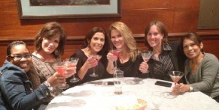 Cheers to us... Ju-Tini's all around!