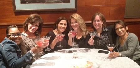 Cheers to us... Ju-Tini's all around!
